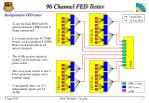 96 Channel FED Tester