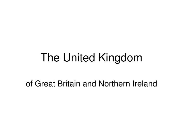 the united kingdom n.