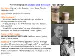 Key Individual in  Disease and Infection  :  Paul Ehrlich