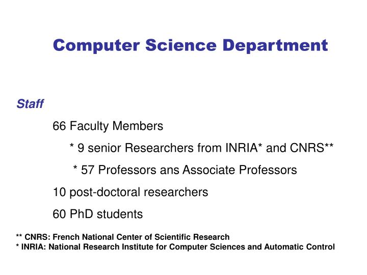PPT - Computer Science Department PowerPoint Presentation - ID:3858325