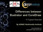 difference between coreldraw & illustrator