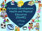Personal Development, Health and Physical Education  (PDHPE)