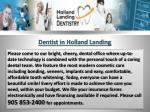 Dentist in Holland Landing