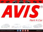 Avis luxury car rental services in india
