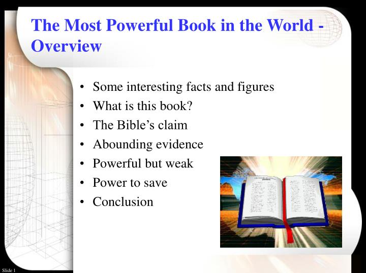 the most powerful book in the world overview n.