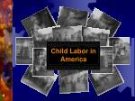 Child Labor in America