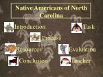 Native Americans of North Carolina