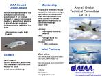 Aircraft Design Technical Committee (ADTC)