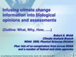 Robert S. Webb Climate Analysis Branch NOAA ESRL Physical Sciences Division