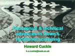 Conceptual & technical advances in Down's syndrome screening Howard Cuckle h.s.cuckle@leeds.ac.uk