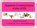 Angiotensin Converting Enzyme inhibitor (ACEI)