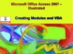 Microsoft Office Access 2007 – Illustrated