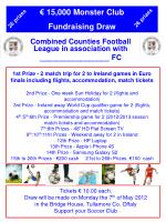 Combined Counties Football League in association with _________________ FC