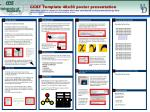 CCST Template 48x36 poster presentation