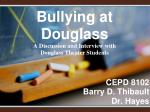 CEPD 8102 Barry D. Thibault Dr. Hayes
