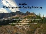 What is WAQA?