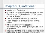 Chapter 8 Quotations