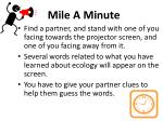 Mile A Minute