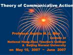 Theory of Communicative Action
