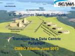 V. C. Summer Nuclear Stations