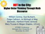 A Mathematics Learning Discourse
