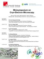 Minisymposium on Cryo-Electron Microscopy