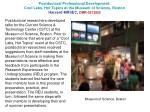 Postdoctoral Professional Development: Cool Labs, Hot Topics at the Museum of Science, Boston