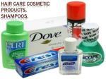 Hair care cosmetic products.  Shampoos.
