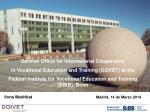 German Office for International Cooperation  in Vocational Education and Training (GOVET) at the