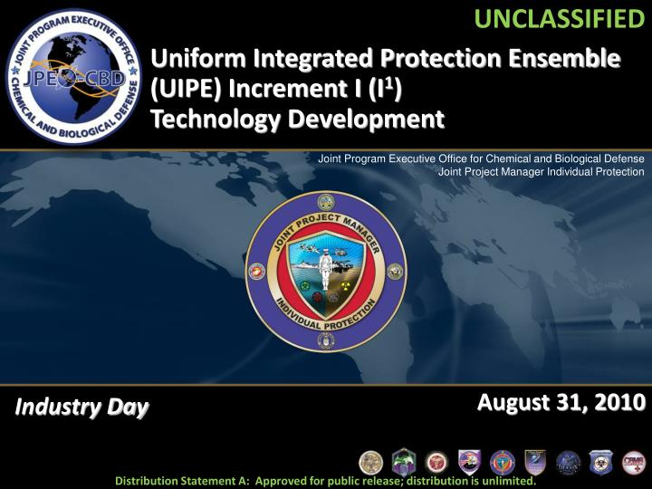 uniform integrated protection ensemble uipe increment i i 1 technology development n.