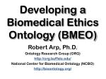 Developing a Biomedical Ethics Ontology (BMEO)