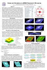 Design and Simulation of a MEMS Piezoelectric Micropump