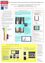 Force field particle clearance using laminar flow and ultrasound standing waves