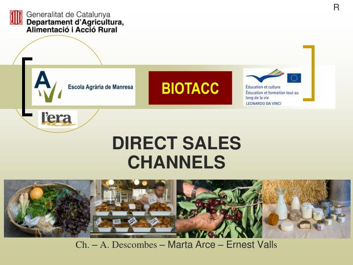 direct sales channels ch a descombes marta arce ernest vall s n.