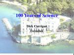 100 Years of Science
