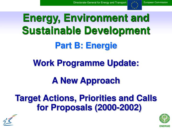 energy environment and sustainable development n.
