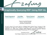 Graphically Querying RDF Using RDF-GL