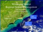 Wilmington District Regional Sediment Management