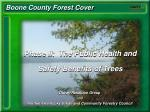Boone County Forest Cover