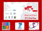 Concept of the Marie Curie Road Show