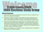 2009 Elections Study Group