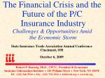 State Insurance Trade Association Annual Conference Cincinnati, OH October 6, 2009