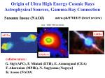 Origin of Ultra High Energy Cosmic Rays