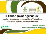 Climate-smart agriculture :