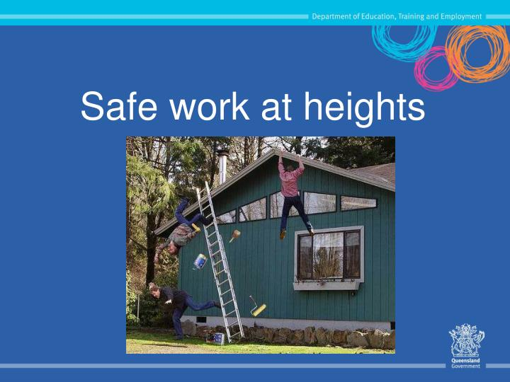 safe work at heights n.