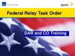 DAR and CO Training