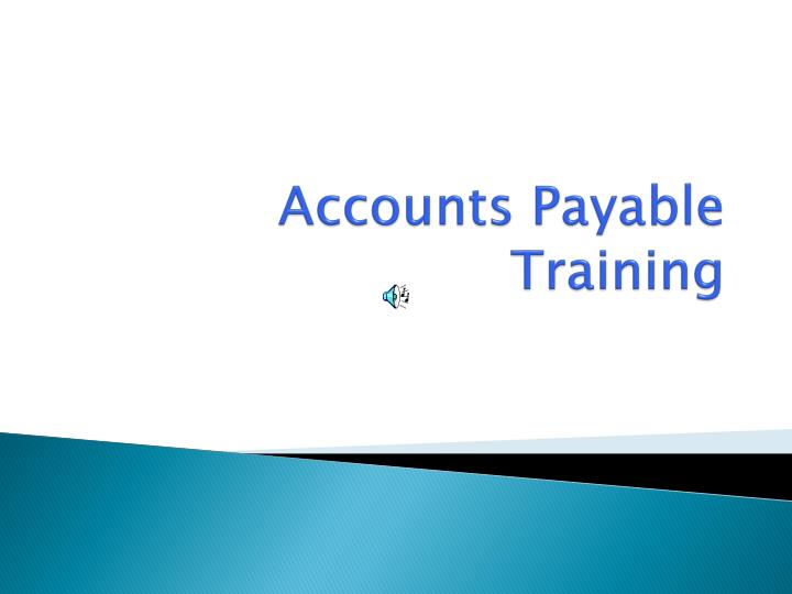 accounts payable training n.