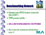 Benchmarking Network