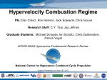 National Center for Hypersonic Combined Cycle Propulsion Update Presentation on June 16 th , 2011