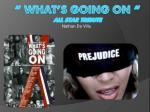 """"""" What's Going On """" All Star Tribute"""